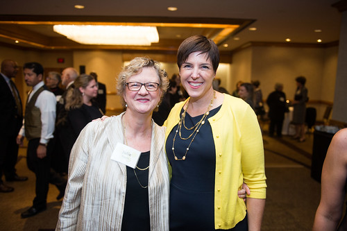 2013 Washington Area Women's Foundation Luncheon Julie Rogers, President & CEO, The Meyer Foundation (also a Women's Foundation board member); Nicky Goren, President, Washington Area Women's Foundation