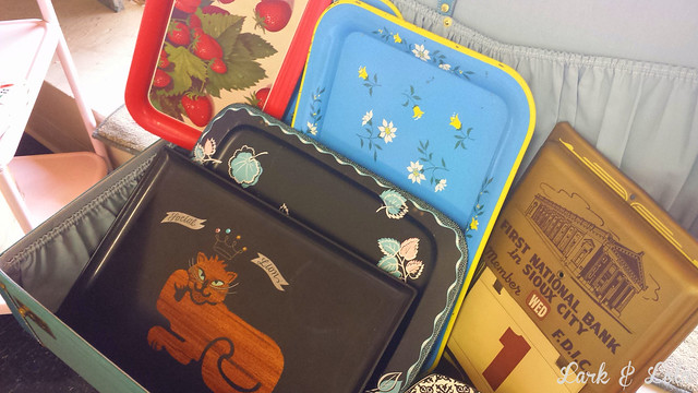 Vintage trays for sale!
