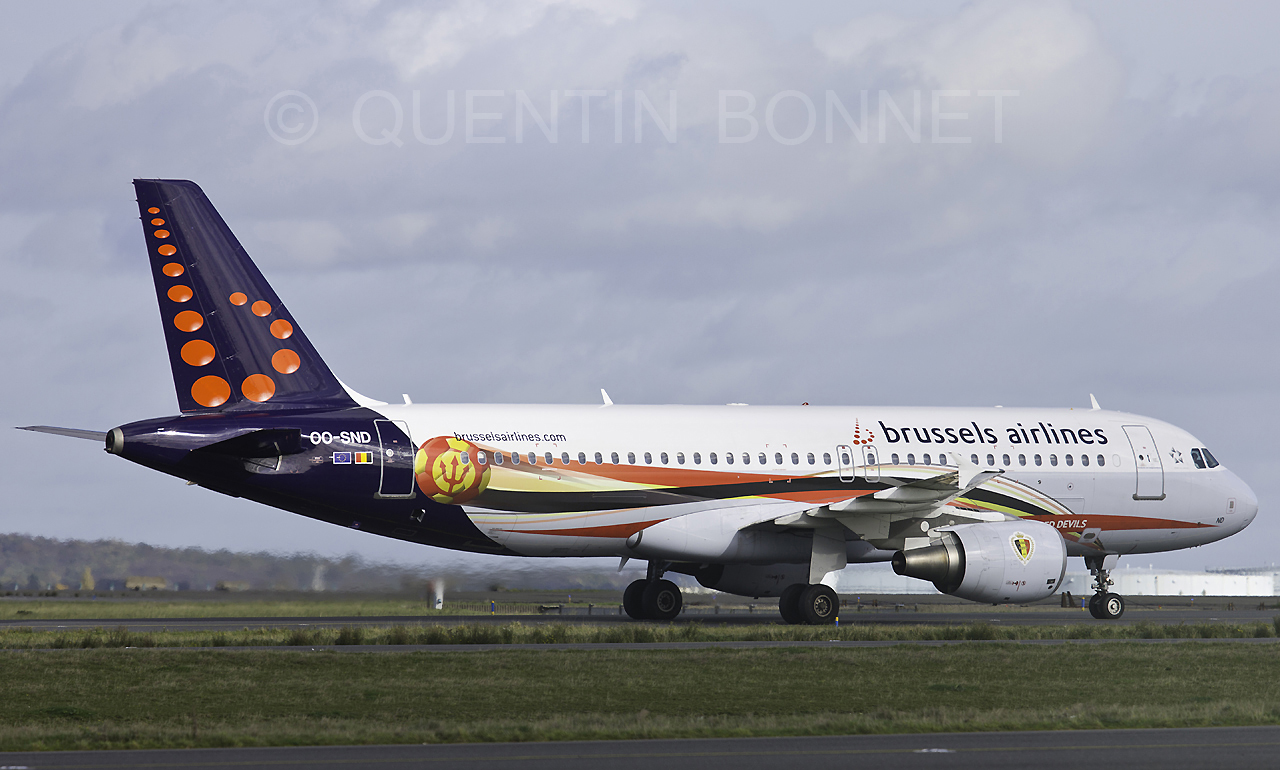 Brussels Airlines Airbus A320-214 OO-SND