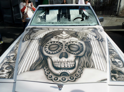 Day of the Dead Car Art