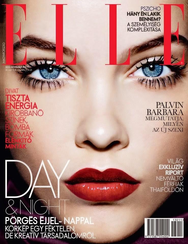 Barbara Palvin for Elle Nobember 2013 Cover