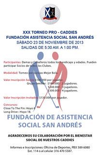 XXX Torneo ProCaddies 2013
