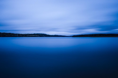 longexposure blue sky sunlight lake water night clouds forest landscape cloudy sweden swedish greyfilter sjuhärad markskommun