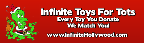 Infinite Toys For Tots Long Banner
