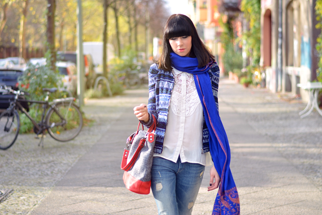 Kashmir Shawl Atelier Jahn For Jahn Sojeans Outfit CATS & DOGS fashion blog Berlin 8