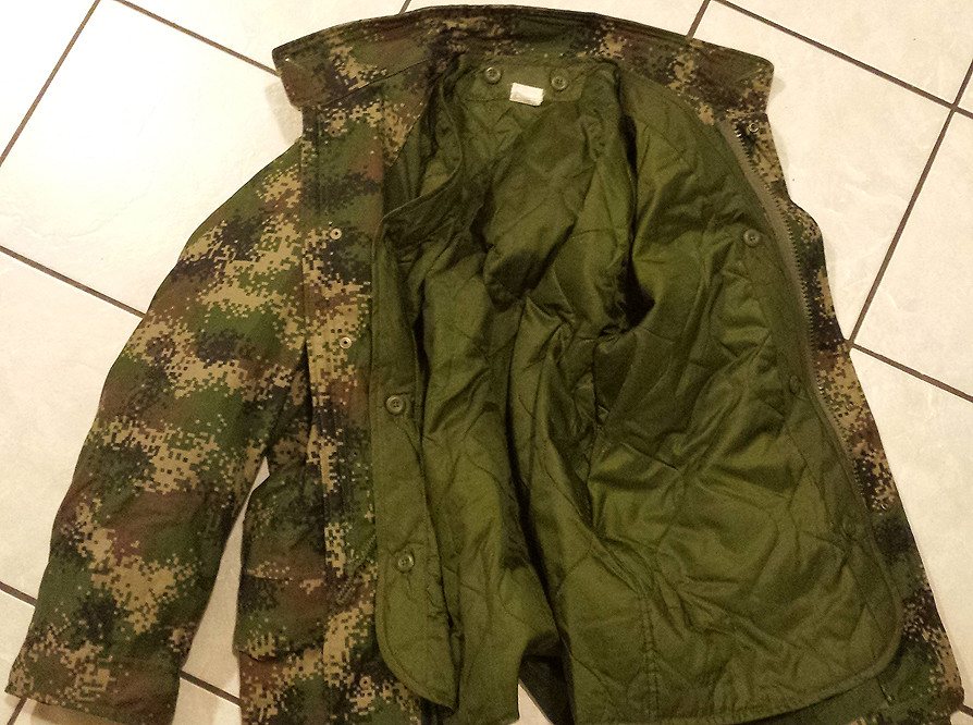 Colombian Digital Camo M65 Field Jacket with Liner 11013423986_7155f7d372_b