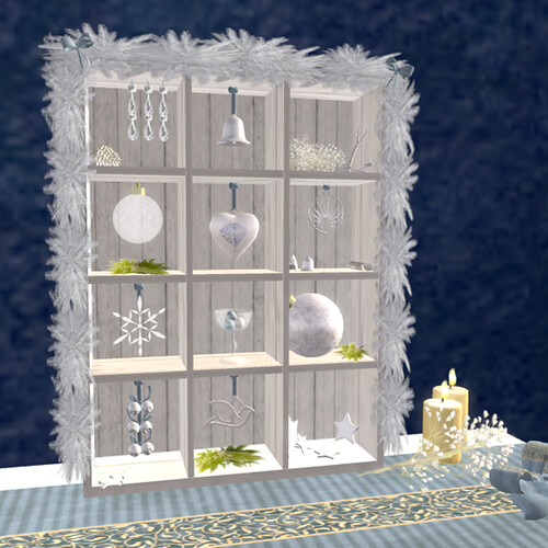 Holiday Treasure Box - White by Teal Freenote
