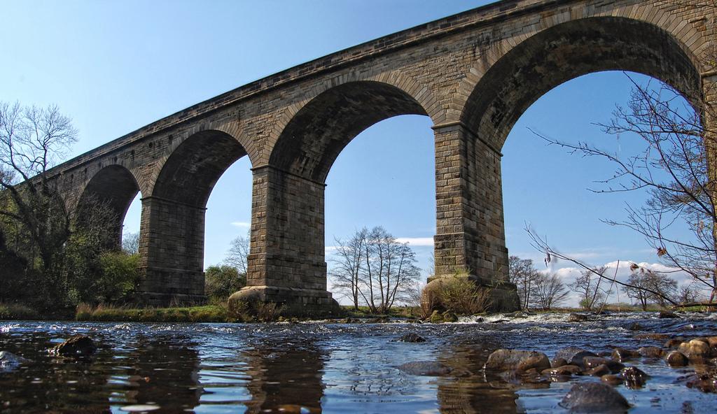 11. Viaducto de Arthington, en el río Wharfe. Autor, Tj. Blackwell