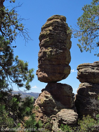 Pinnacle Rock, Heart of Rocks Loop Trail, Chiricahua National Monument, Arizona