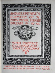 Book of my library: Shakespeare (1910)