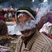 Holy Smoke - Sonepur, India by Maciej Dakowicz