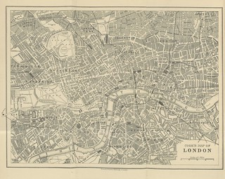 """From the British Library on Flickr: Image taken from page 10 of """"Cook's Handbook for London. With two maps."""" (1894)"""
