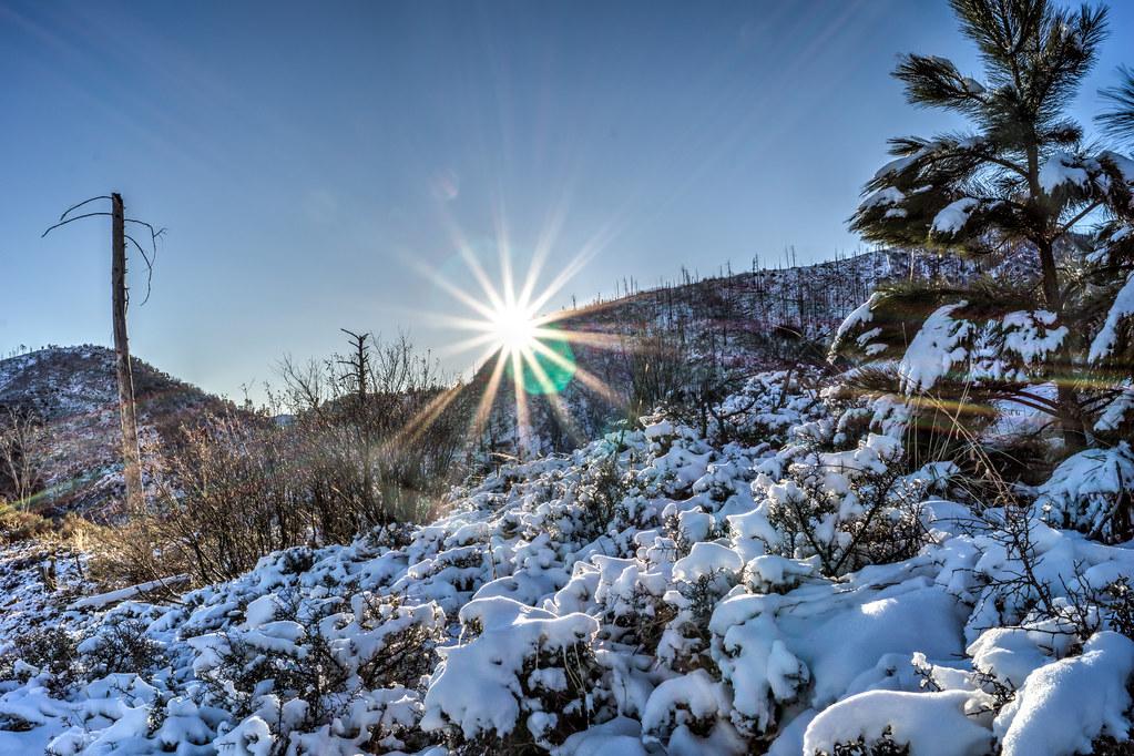 1312 Sunrise on the Red Ridge Trail