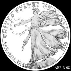 2014 American Eagle Platinum design AEP_R_08