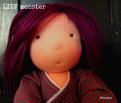 Deposit for a Surprise custom spot for an 19 inch LIEF monster doll