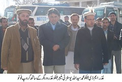 Managing Director NATCO visited Ghizer district today