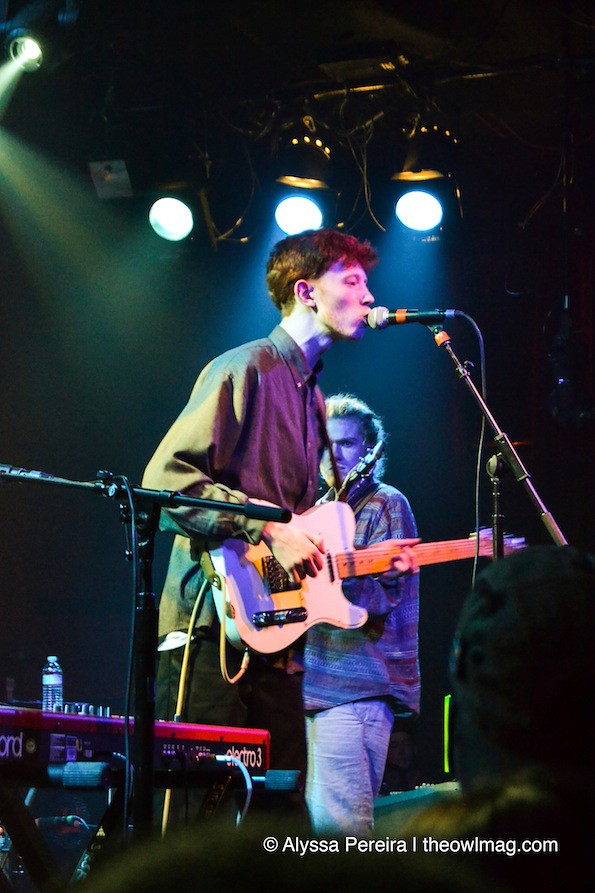 King Krule @ The Independent, SF 12/17/13
