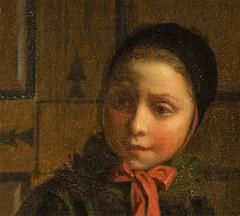 face, painting, head, self-portrait, person, portrait,