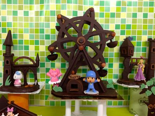 Monas de Chocolate