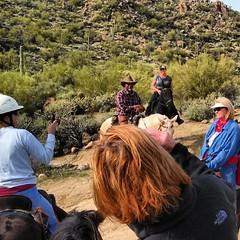 The rest of our group. #arizona #CallistoMorgans #CoffeeKen #cowboys #mountains #saltriver #horses #hiking #mountains #morganhorses #nature #mountainquest #dessert #wildernessquest