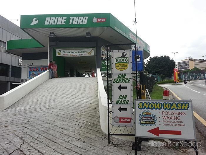 DToX - Drive Thru Oil change Xpress