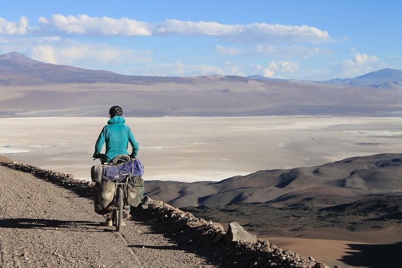 Descending to Mina La Casualidad