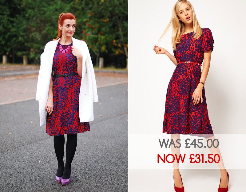 Asos midi dress - sale