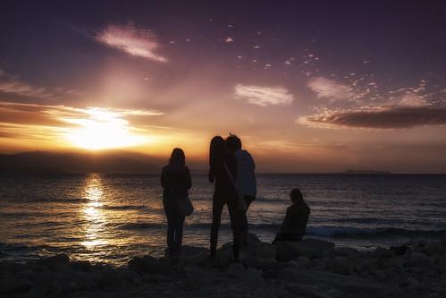 sunset sea sky mountains clouds photographers crete rethymno κρήτη σύννεφα θάλασσα δύση φωτογράφοι βουνά ρέθυμνο ουρανόσ