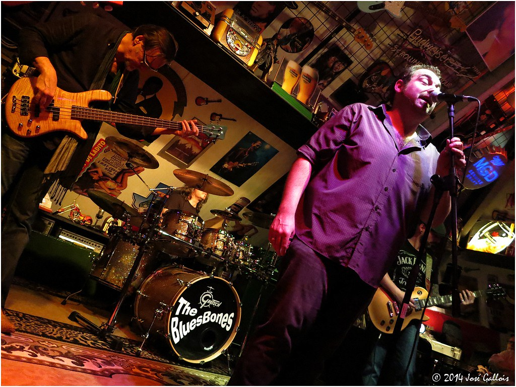 The BluesBones @ Muziekzolder 09.01.14