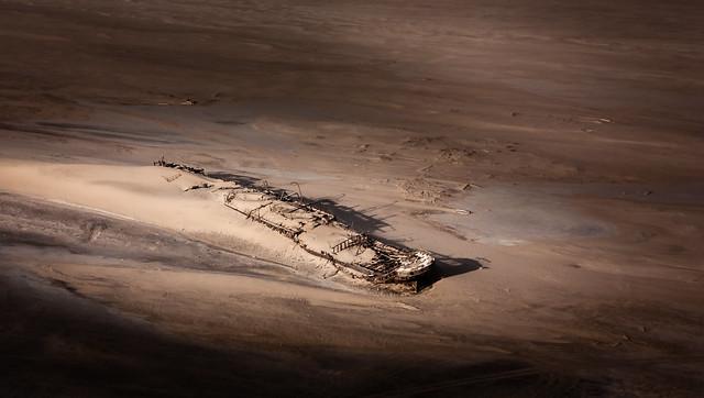 Eduard Bohlen in Namib desert