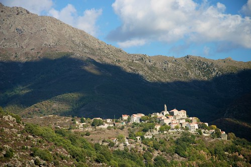 Walk from Sermano to Corte, Corsica