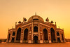 Safdarjung tomb at sunset