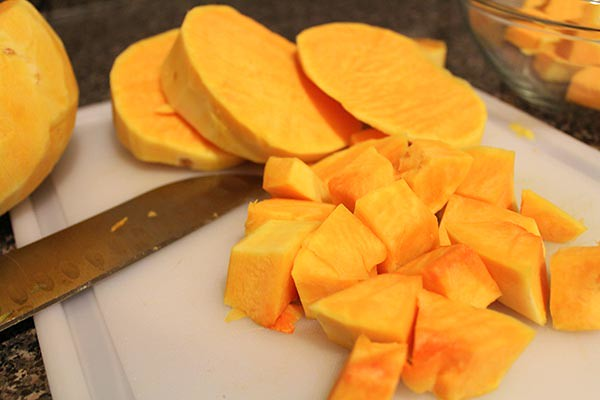 Warm Butternut Squash Salad