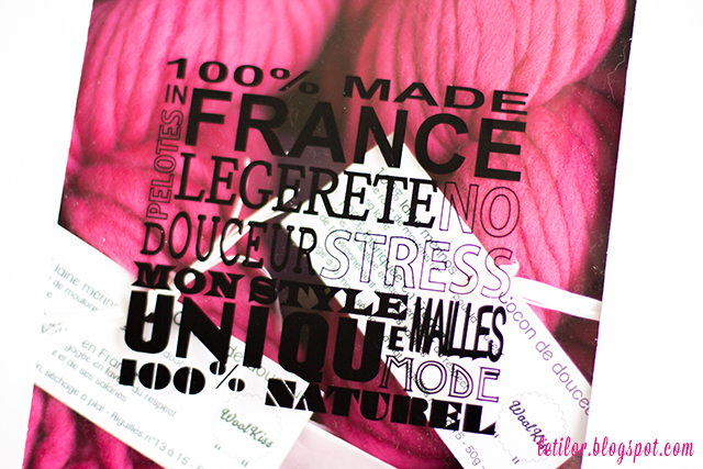 Woolkiss , kit tricot, 100% made in France