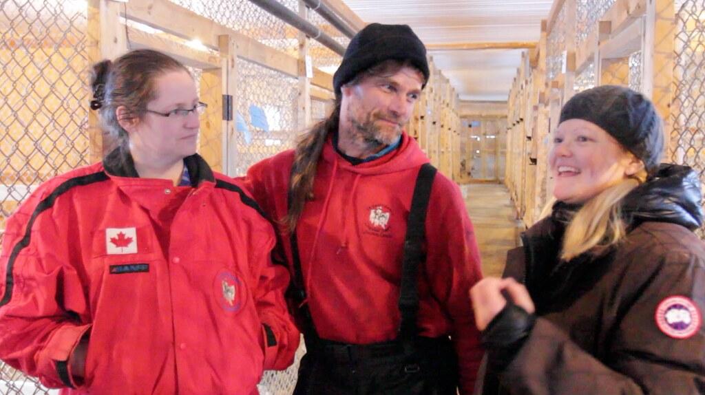 Yukon Quest training - Hank and Tanya of Winterdance.