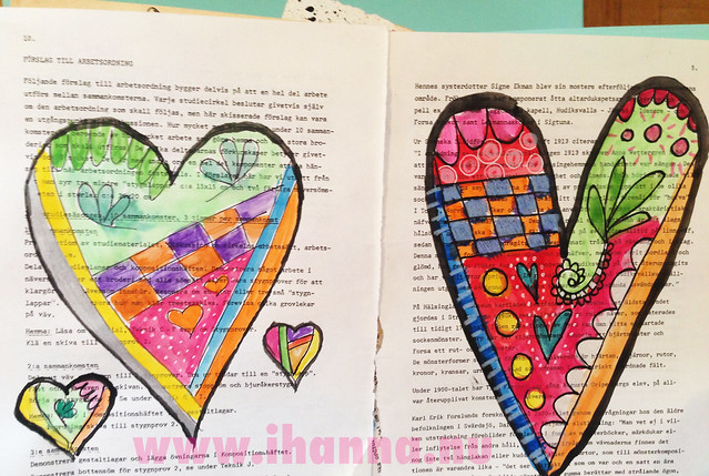 Craft-a-Doodle Hearts