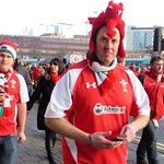 Wales Supporters: Wales vs Italy - Cardiff 2014