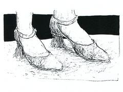 Besen Grafik - broom graphics (BG 02.2): Lady - Frau