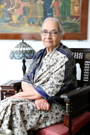 Serene Grandmother from Bangalore - Henrietta Colaco