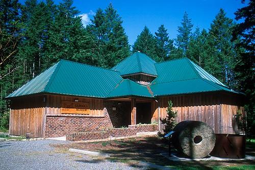 Gabriola Museum, Gabriola Island, Gulf Islands, Georgia Strait, British Columbia, Canada