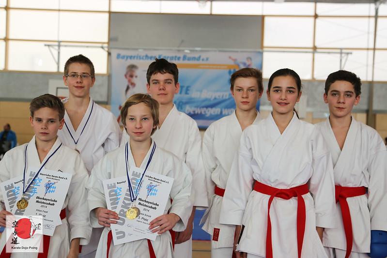 Die erfolgreichen Teilnehmer aus Poing