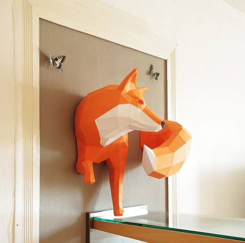 All Things Paper 3D Craft Animals
