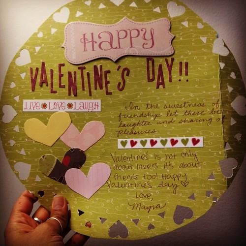 Handmade Valentine: Mayra