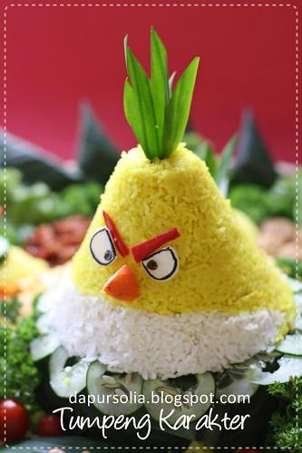Tumpeng Karakter ~ Angry Bird