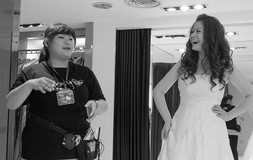 豐腴女孩也能挑到漂亮婚紗14