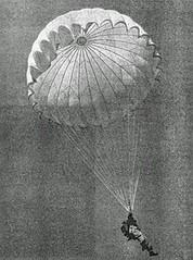 Paracaidísta en la Segunda Guerra Mundial