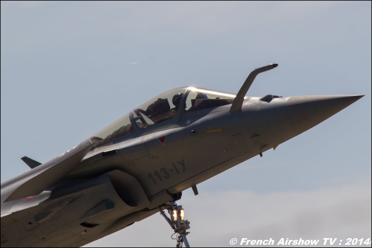 Rafale Solo Display Meeting Aerien 2014