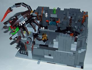 LEGO Chima MOC - Scorpion Palace Ruins 7