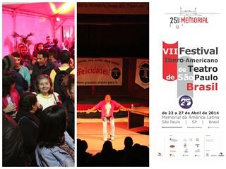 VII Festival Iberoamericano de Teatro de Sao Paulo