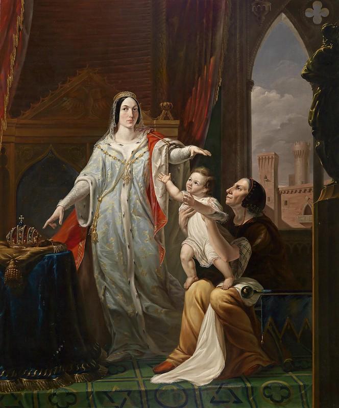 Pelagio Palagi - Il destino regale di Federico II di Svevia Infante (c.1810)